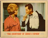 1d015 COURTSHIP OF EDDIE'S FATHER signed LC #2 '63 by Shirley Jones, who's looking at Glenn Ford!
