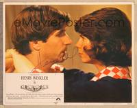 1d042 ONE & ONLY signed LC #8 '78 by Henry Winkler, who's in extreme close up with Kim Darby!