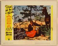 1d056 SUSAN SLADE signed LC #4 '61 by BOTH Troy Donahue & Connie Stevens!