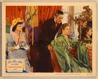 1d059 THAT FORSYTE WOMAN signed LC #8 '49 by Janet Leigh, sitting behind Errol Flynn & Greer Garson!
