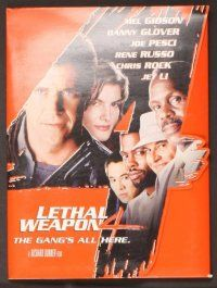 2a257 LETHAL WEAPON 4 presskit '98 Mel Gibson, Danny Glover, Joe Pesci ...