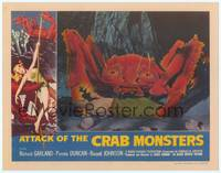 3a357 ATTACK OF THE CRAB MONSTERS Fantasy #9 LC '90s best c/u of man in monster's pincers!