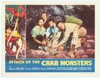 3a281 ATTACK OF THE CRAB MONSTERS LC '57 Russell Johnson, Richard Garland, Pamela Duncan, Bradley