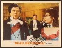 5g023 BEAU BRUMMELL signed LC #8 '54 by Stewart Granger, who's watching fat Peter Ustinov!