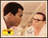 5g043 GREATEST signed LC #5 '77 by Ernest Borgnine, who's in close up with Muhammad Ali!