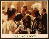 5g050 JUNGLE BOOK signed LC '94 by Jason Scott Lee, who's wearing a turban at a dress ball!