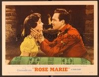 5g067 ROSE MARIE signed LC #7 '54 by Canadian Mountie Howard Keel, close up with Ann Blyth!