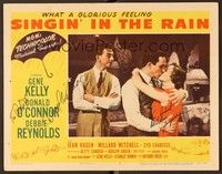 5g072 SINGIN' IN THE RAIN signed LC #5 '52 by BOTH Debbie Reynolds AND Donald O'Connor!