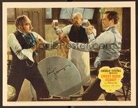 5g075 SWEET ROSIE O'GRADY signed LC '43 by Robert Young, who's boxing with Adolphe Menjou in bar!