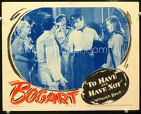 5g076 TO HAVE & HAVE NOT signed LC '44 by Lauren Bacall, who is with Humphrey Bogart!
