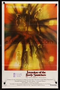 5p023 INVASION OF THE BODY SNATCHERS int'l 1-stop poster '78 classic remake of deep space invaders!