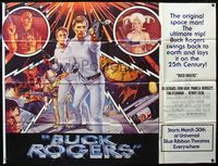 5p031 BUCK ROGERS subway poster '79 classic sci-fi comic strip, art by Victor Gadino!