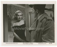 7b023 ASPHALT JUNGLE 8x10 still '50 c/u of sexiest Marilyn Monroe, John Huston classic film noir!