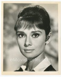 7b009 AUDREY HEPBURN 8x10 still '62 staring intently straight ahead from The Children's Hour!