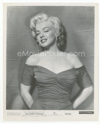 7b027 HOW TO MARRY A MILLIONAIRE 8x10 still '53 incredible close up of sexy Marilyn Monroe!