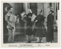 7b029 HOW TO MARRY A MILLIONAIRE 8x10 still '53 sexy Marilyn Monroe, Betty Grable & Lauren Bacall!