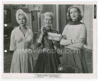 7b030 HOW TO MARRY A MILLIONAIRE 8x10 still '53 Marilyn Monroe, Bacall & Grable eating biscuits!