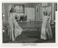 7b028 HOW TO MARRY A MILLIONAIRE 8x10 still '53 sexy Marilyn Monroe & Lauren Bacall dancing!