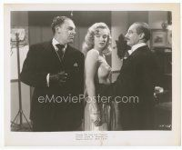 7b022 LOVE HAPPY 8x10 still '49 Otto Waldis threatens Groucho Marx & sexy unbilled Marilyn Monroe!