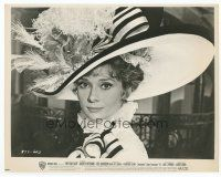 7b020 MY FAIR LADY 8x10 still '64 classic portrait of Audrey Hepburn in her elaborate dress & hat!