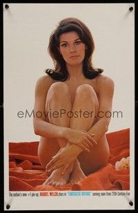 7p001 FANTASTIC VOYAGE special advance WC '66 incredible close up of completely naked Raquel Welch!