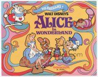 7s020 ALICE IN WONDERLAND TC R74 Walt Disney