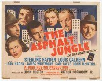 7s025 ASPHALT JUNGLE TC '50 Marilyn Monroe, Sterling Hayden, John Huston classic film noir!