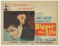7s030 BIGGER THAN LIFE TC '56 Nicholas Ray, James Mason is prescribed cortizone & becomes addicted!