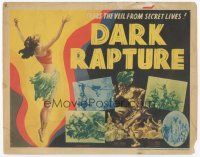 7s048 DARK RAPTURE TC '38 filmed & recorded on the Denis-Roosevelt Belgian Congo expedition!