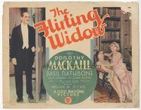 7s060 FLIRTING WIDOW TC '30 Dorothy MacKail pretends to be married so her younger sister can!