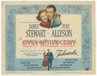 7s074 GLENN MILLER STORY TC R60 James Stewart in the title role with June Allyson!