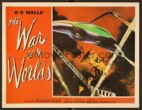 7s009 WAR OF THE WORLDS Fantasy #9 LC '90s incredible image of space ship attacking city!