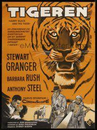 7w351 harry black amp the tiger danish 61 cool wenzel art