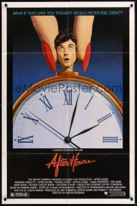 8e019 AFTER HOURS style B 1sh '85 Martin Scorsese, great art by Mattelson!