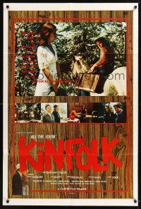 8e026 ALL THE LOVIN' KINFOLK 1sh '70 good country girl who went to town & took all the wrong turns!