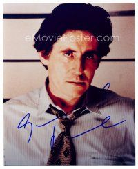 8h054 GABRIEL BYRNE signed color 8x10 REPRO still '00s head & shoulders portrait of the actor!