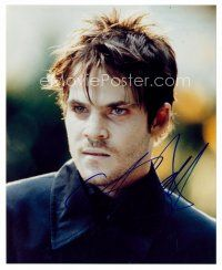 8h085 STEPHEN DORFF signed color 8x10 REPRO still '01 close up as a pale vampire from Blade!