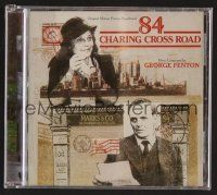 8h093 84 CHARING CROSS ROAD soundtrack CD '07 original score by George Fenton, ltd edition of 1000!