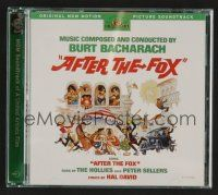 8h095 AFTER THE FOX soundtrack CD '98 original score by Burt Bacharach, deluxe edition!