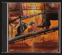 8h098 AMERICAN TAIL soundtrack CD '90 Steven Spielberg & Don Bluth, original score by James Horner!