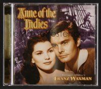 8h101 ANNE OF THE INDIES soundtrack CD '07 original score by Franz Waxman, limited edition of 1000!