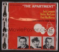 8h102 APARTMENT compilation CD '09 limited edition of 1000 + music from 2 other Billy Wilder movies!