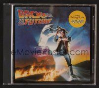 8h106 BACK TO THE FUTURE soundtrack CD '90 original score by Huey Lewis, Eric Clapton & more!