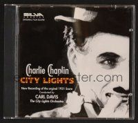 8h122 CITY LIGHTS soundtrack CD '96 original score by Charles Chaplin conducted by Carl Davis!