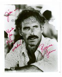 8s055 BRUCE DERN signed 8x10 REPRO still '72 head & shoulders close up from Coming Home!