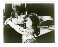 8s057 CAMMIE KING signed 8x10 REPRO still '80s as little Bonnie Butler hugging Clark Gable!