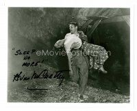 8s073 KEVIN MCCARTHY signed 8x10 REPRO still '80s with Wynter from Invasion of the Body Snatchers!