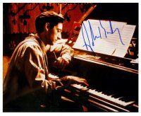 8s049 ADRIEN BRODY signed color 8x10 REPRO still '03 great close up of the star from The Pianist!