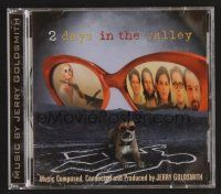 8s098 2 DAYS IN THE VALLEY soundtrack CD '96 original score by Jerry Goldsmith!