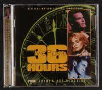 8s099 36 HOURS soundtrack CD '65 original score by Dimitri Tiomkin, limited edition!